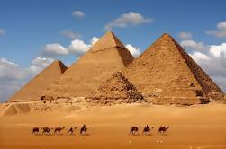 Tour Privado: Pirámides de Giza, Esfinge, Museo Egipcio, Khan el-Khalili Bazaar