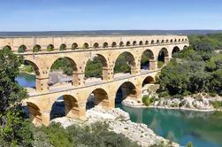 Pequeño grupo de medio día Pont du Gard y teatro romano con cata de vinos de Aviñón