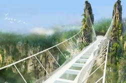 Grupo de viagem de um dia para Zhangjiajie Grand Canyon e ponte de vidro mais longo do mundo
