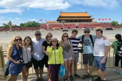 Excursión de un día a la Plaza de Tiananmen y la Ciudad Prohibida, junto con la Gran Muralla de Badaling