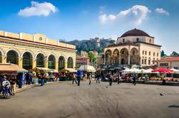 Visite de la ville: histoire d'Athènes avec gastronomie et aromathérapie