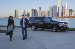 Transferência de partida do aeroporto de Chicago por SUV