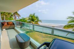 Descanso de 4 días en un alojamiento frente a la playa con transporte desde la ciudad de Panamá