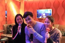Experiencia privada de Karaoke incluyendo la cena de Pan de moldeo de Shanghai