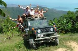 Eco-Jungle Safari tour alrededor de Koh Samui incluyendo almuerzo