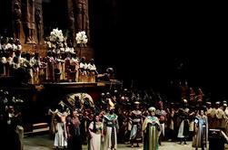 Aida en el Metropolitan Opera House