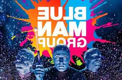 Blue Man Group en vivo en Broadway
