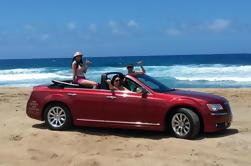 Tour de lujo de cuatro puertas convertibles en la costa sur de Oahu