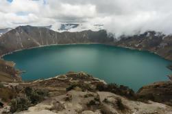 Excursión privada de un día a Quilotoa Crater Lake
