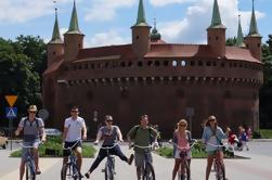 Excursão de bicicleta em Cracóvia