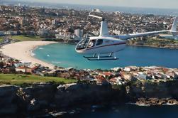 Excursão das praias de Sydney pelo helicóptero