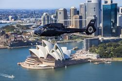 Excursão do porto de Sydney pelo helicóptero