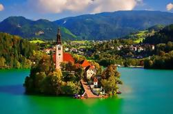 Excursión privada: Excursión de un día a Ljubljana y al lago Bled desde Zagreb