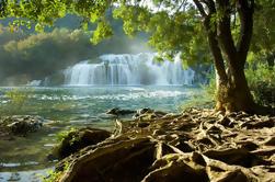 Excursão privada do Parque Nacional Krka de Zadar com Transfer para Dubrovnik