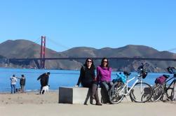 Tour de bicicleta eléctrico independiente de San Francisco con alquiler