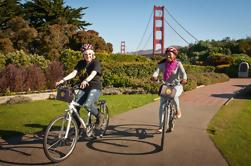 Excursión en bici por la noche de San Francisco Golden Gate Bridge