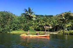 Aventura de kayak guiada en el río Wailua