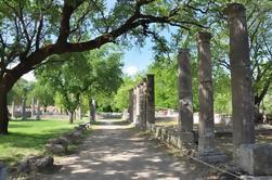 Tour privado de día completo a la antigua Olimpia y al Canal de Corinto