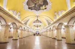 Tour del metro de Moscú y de los rascacielos de Stalin