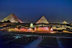 Espectáculo de sonido y luz de las pirámides con transferencia privada