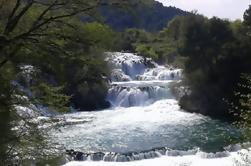 Excursão privada ao Parque Nacional de Krka com Skradinski Buk Cachoeira de Sibenik