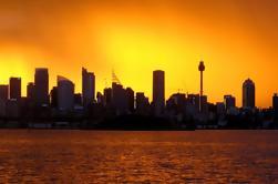 Sunrise Zeilen op Sydney Harbour