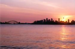 Sunset Zeilen op de haven van Sydney