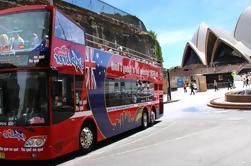 Combo de Sydney: Excursão do ônibus da cidade do Hop-Em Hop-Off e do Hop-Em Hop-Off