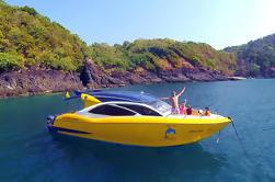 Private Racha Yai Island Excursión de buceo y snorkel en lancha rápida