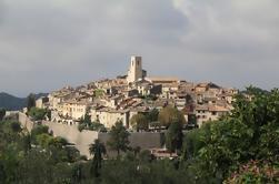 Tour Privado de Provenza Campo: Saint Paul de Vence, Tourrettes sur Loup, Gourdon y Grasse desde Niza