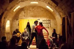 Show de flamenco en los baños árabes de Santa María en Córdoba