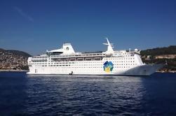 Villefranche Shore Excursion: Tour privado de la Riviera francesa, incluyendo Nice Eze La Turbie Mónaco y Monte Carlo