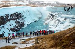 Golden Circle Express Tour fra Reykjavik