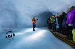 Into the Glacier Ice Cave Tour og Lava Cave Dagstur fra Reykjavik med Live Guide og Touch-Screen Guide Audio