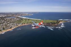 Vôo panorâmico das praias do norte de Sydney pelo hidroplano