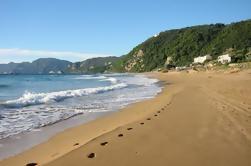 Excursión privada Playa Glyfada en Corfú