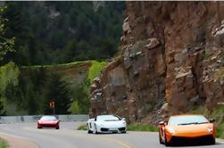 Multi-coche 65 Mile Canyon Road Test Drive