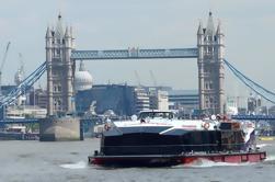Cutty Sark y crucero por el río Thames en Londres