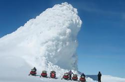 Tour privado de la costa sur de Reykjavik con 1 hora de motonieve en un glaciar