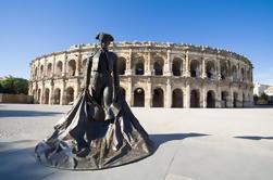 Provence Wine and Heritage Tour van Avignon: Les Baux de Provence, Nîmes en Uzès