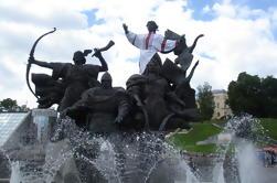 Esculturas de tamaño humano de Kiev