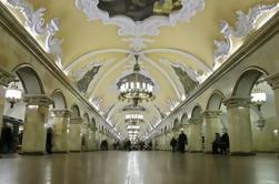 Excursão da arquitetura do metro de Moscovo e da propriedade de Kolomensoye