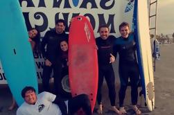 Cours de surf privé avec GoPro