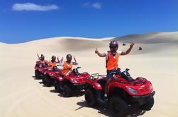 Excursión de la bici del patio de las dunas de arena de Worimi
