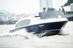 Private Tour: 2-Horas de Luxo Rio Bangkok e Canal Sightseeing Cruise