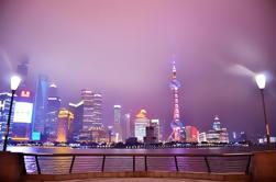 3 horas de Shanghai Night Tour privado con crucero por el río Huangpu