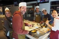 Tokyo Tsukiji Fischmarkt Walking Tour und japanische Washoku Kochen Lektion