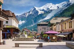 Chamonix Montblanc Day Trip van Genève met de optionele Cable Car Ride en Lunch