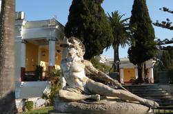 Excursión privada a la costa: Ciudad de Corfú y visita al Palacio Achillion