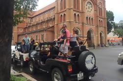 Excursión de medio día a la ciudad de Ho Chi Minh en Jeep